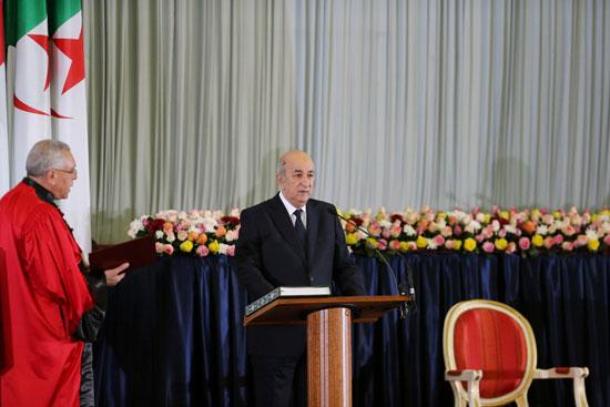 الرئيس-الجزائرى-المنتخب-يؤدى-اليمين-الدستورية