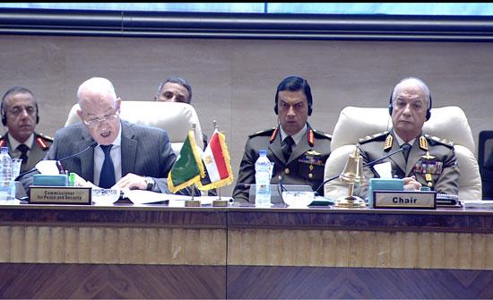 ختام اجتماعات اللجنة المتخصصة للدفاع والسلامة والأمن الأفريقى (2)
