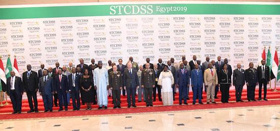 ختام اجتماعات اللجنة المتخصصة للدفاع والسلامة والأمن الأفريقى (1)