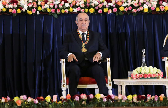 الرئيس-الجزائري-المنتخب-عبد-المجيد-تبون-بمراسم-أداء-اليمين