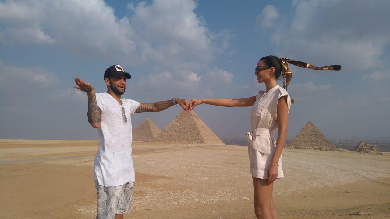 دانى فى الأهرامات (2)
