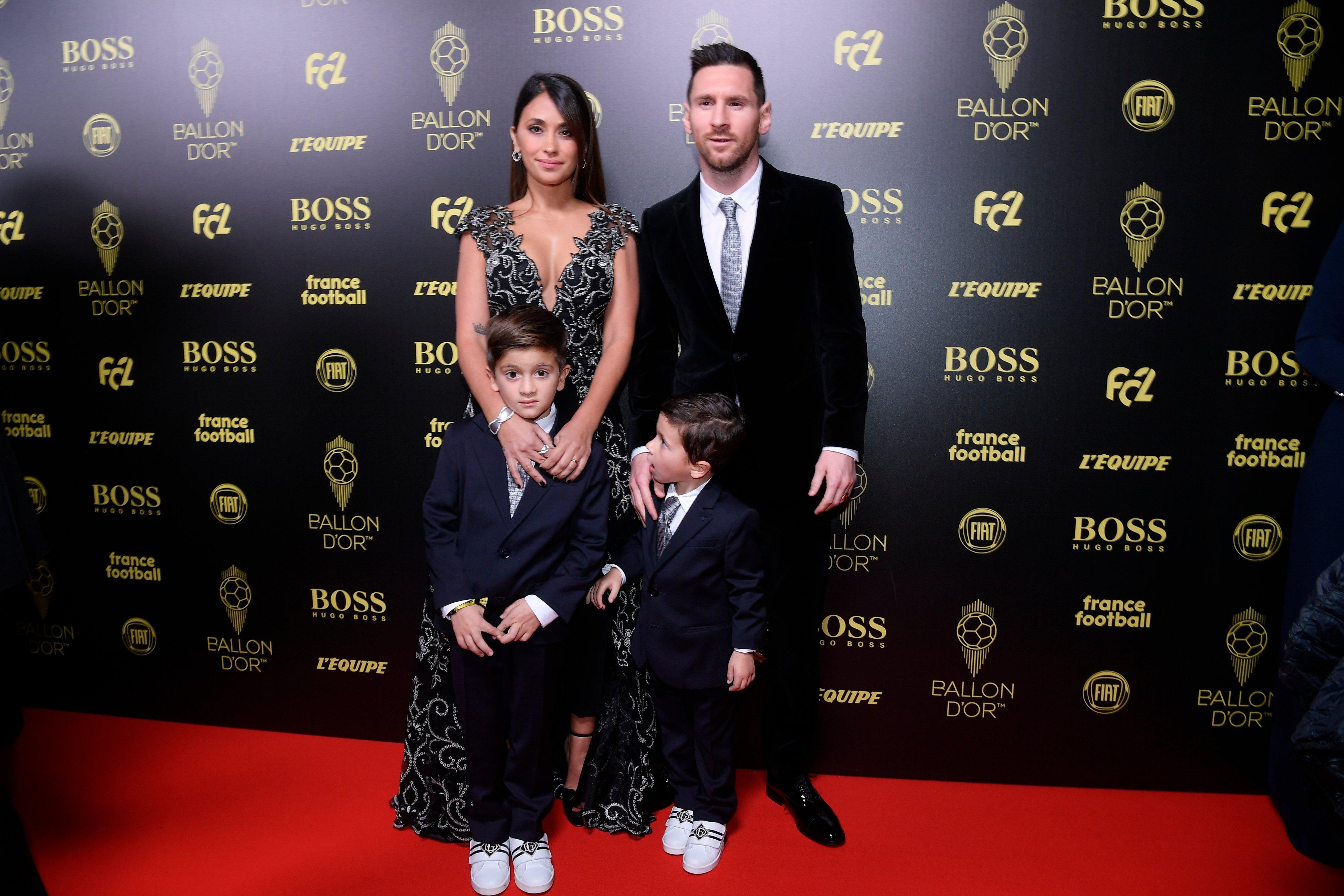 ميسي وعائلته