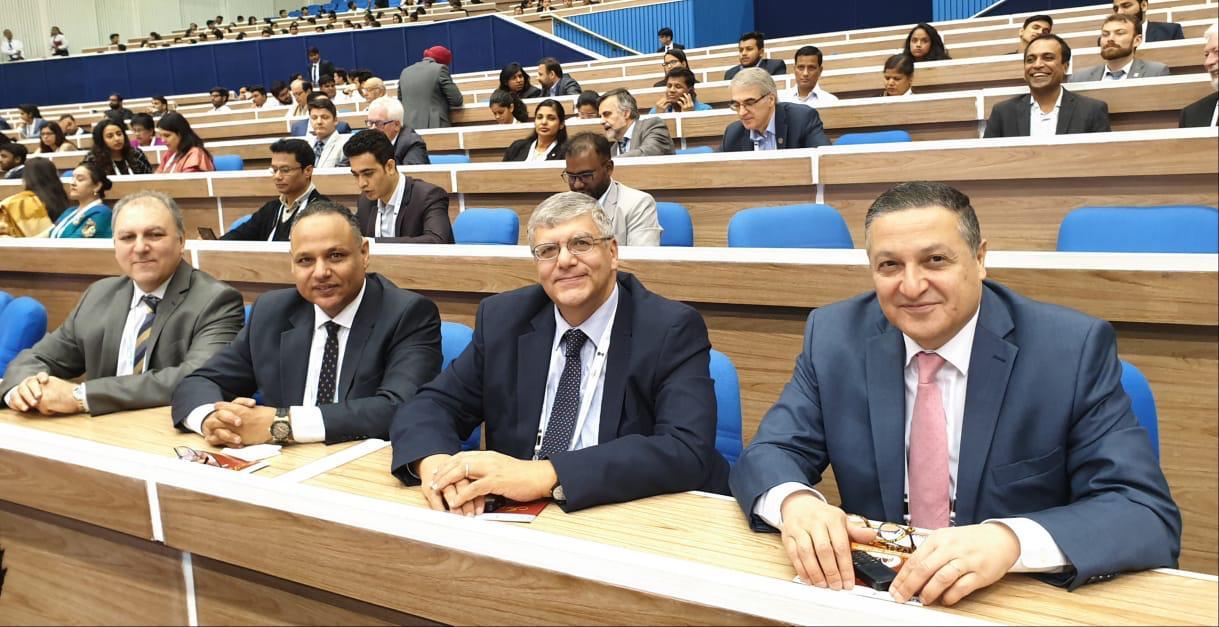 رئيس جامعة بنها يشارك بمؤتمر قمة التعليم العالى بالهند (1)