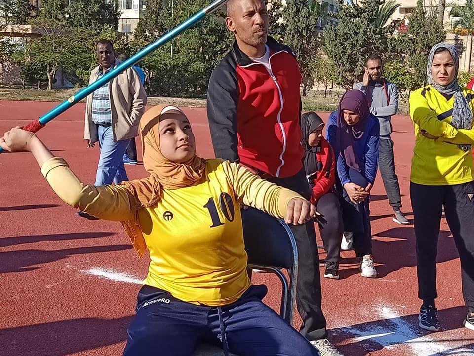 أبناء جامعة أسيوط من ذوي الهمم يحرزون 21 ميدالية متنوعة (3)
