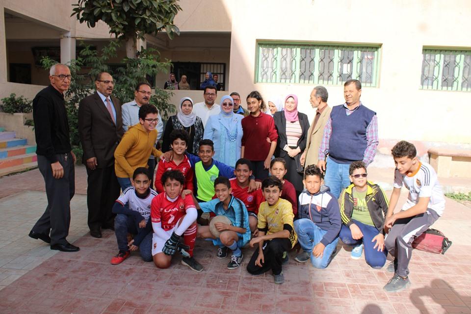 جانب من جولة وكيل تعليم كفر الشيخ (5)