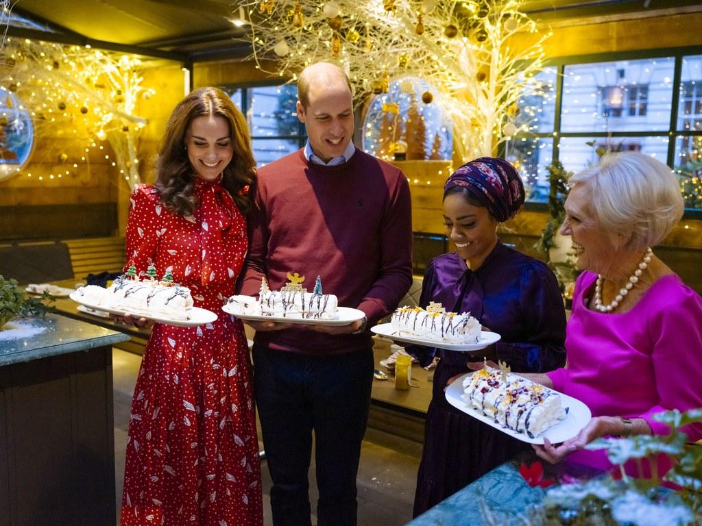 دوق كامبريدج وزوجته من مطبخ ماري بيري