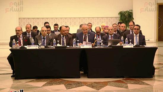 اجتماعات سد النهضة بالقاهرة