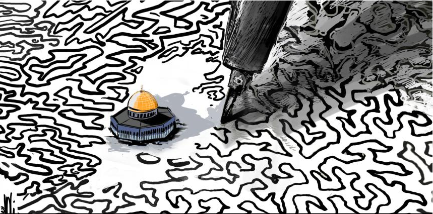 كاريكاتير صحيفة القدس الفلسطينية