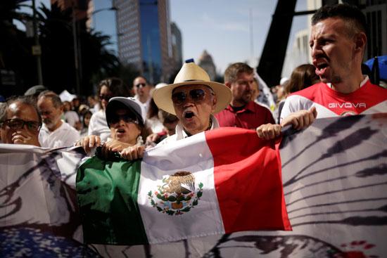 مسيرة تطالب بوقف العنف فى المكسيك