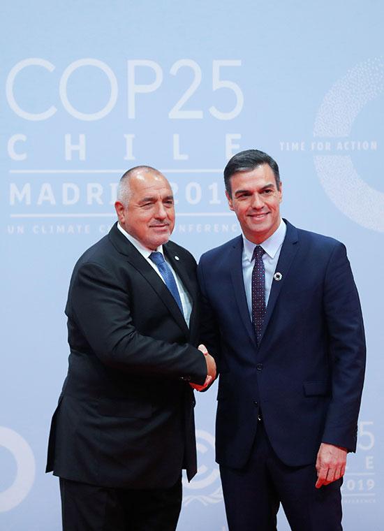 بيدرو سانشيز يرحب برئيس الوزراء البلغارى بويكو بوريسوف