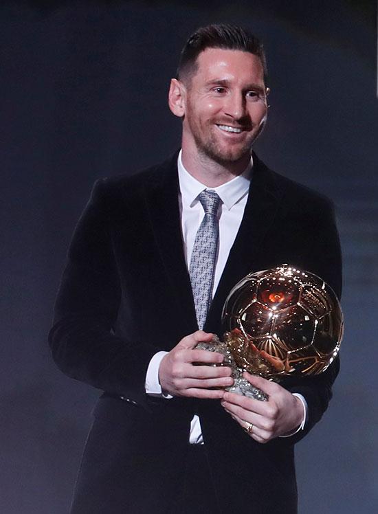 ميسى وجائزة الكرة الذهبية