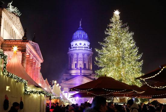 استعدادات الكريسماس بألمانيا