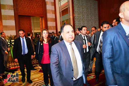 الدكتور محمد معيط وزير المالية فى الاحتفال