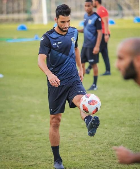 محمد سالم في التدريبات