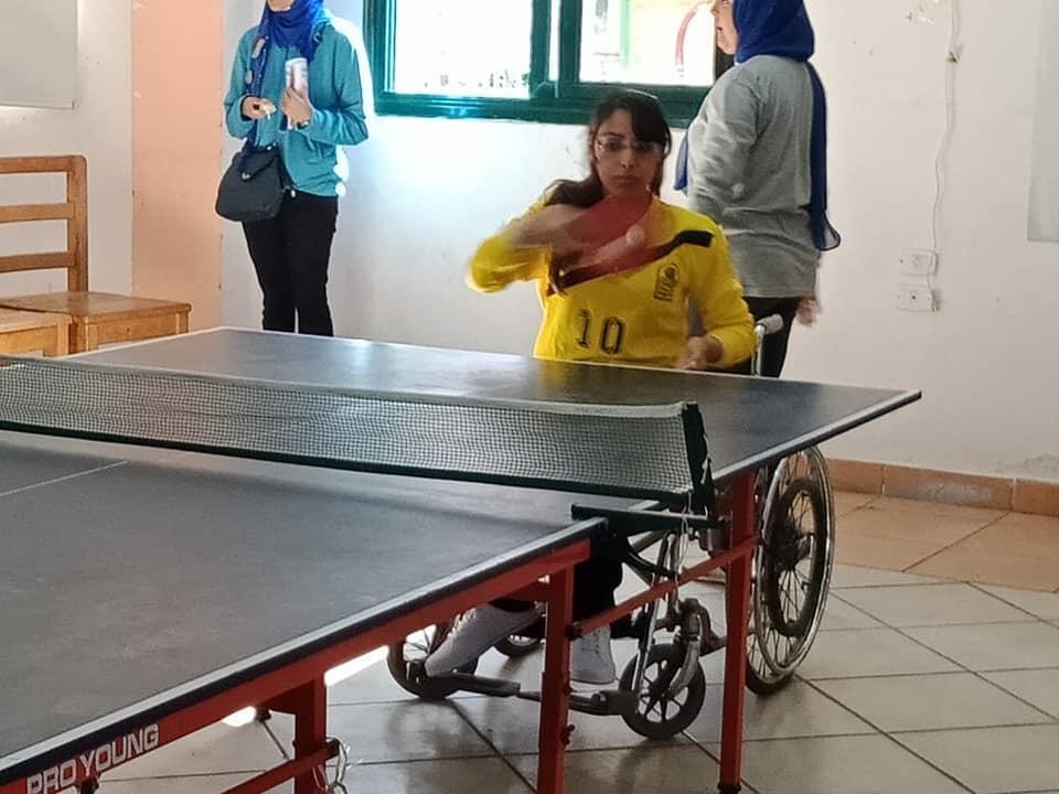 أبناء جامعة أسيوط من ذوي الهمم يحرزون 21 ميدالية متنوعة (7)
