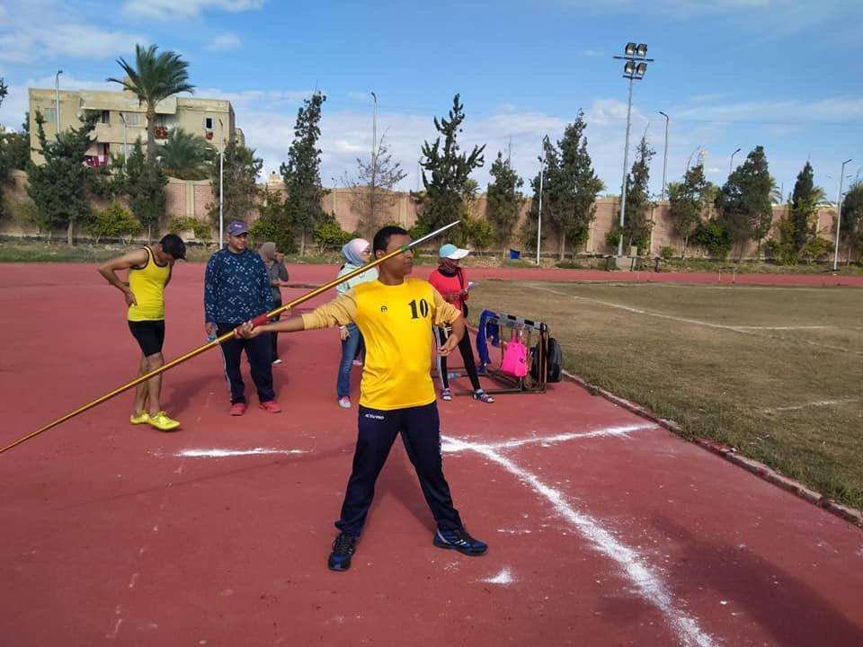أبناء جامعة أسيوط من ذوي الهمم يحرزون 21 ميدالية متنوعة (1)