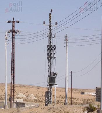 إنجازات جهاز تعمير سيناء على أرض الفيروز (2)