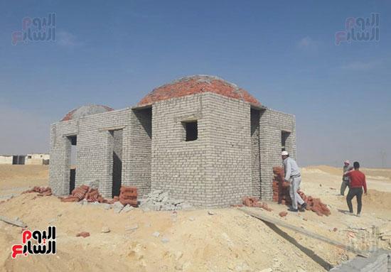 إنجازات جهاز تعمير سيناء على أرض الفيروز (4)