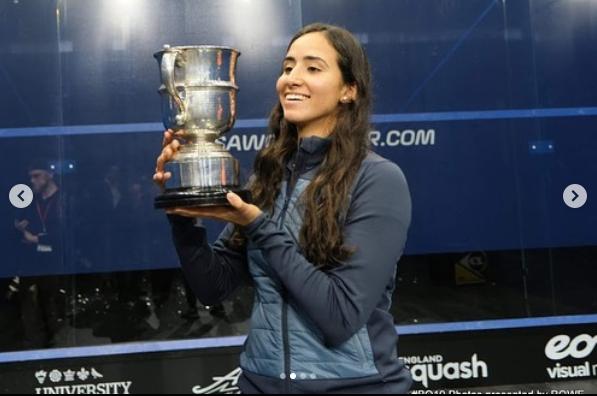 نوران جوهر وكأس بطولة بريطانيا المفتوحة