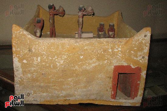 إحدى القطع المقرر عرضها بمتحف شرم الشيخ (1)
