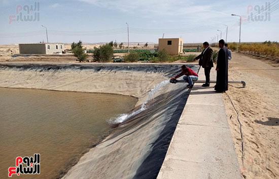 إنجازات جهاز تعمير سيناء على أرض الفيروز (10)