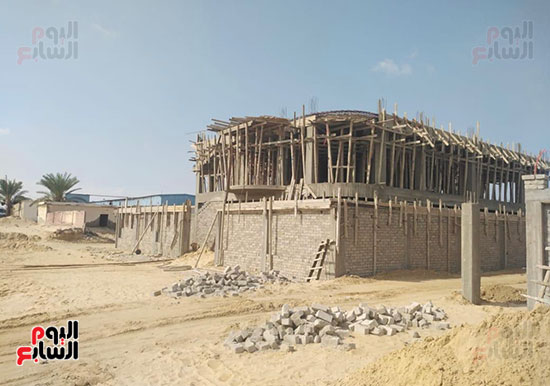 إنجازات جهاز تعمير سيناء على أرض الفيروز (5)