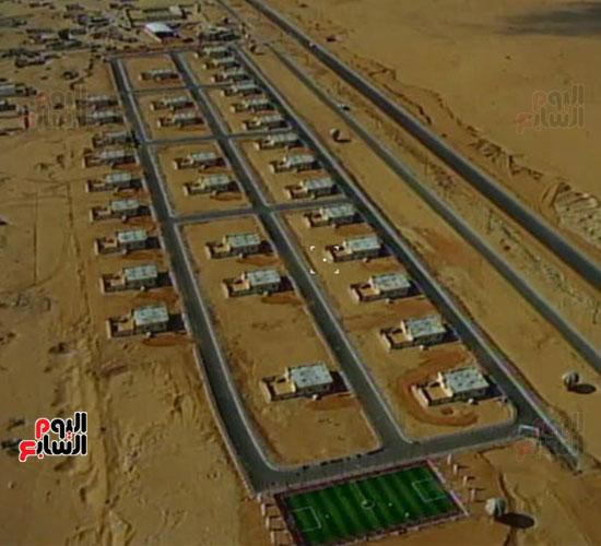 إنجازات جهاز تعمير سيناء على أرض الفيروز (11)