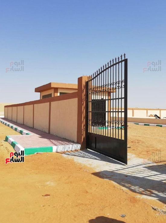 إنجازات جهاز تعمير سيناء على أرض الفيروز (12)