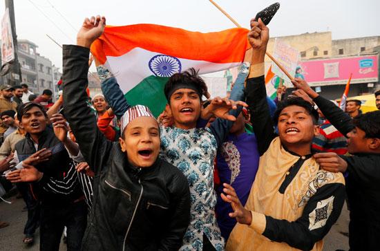 محتجو الهند