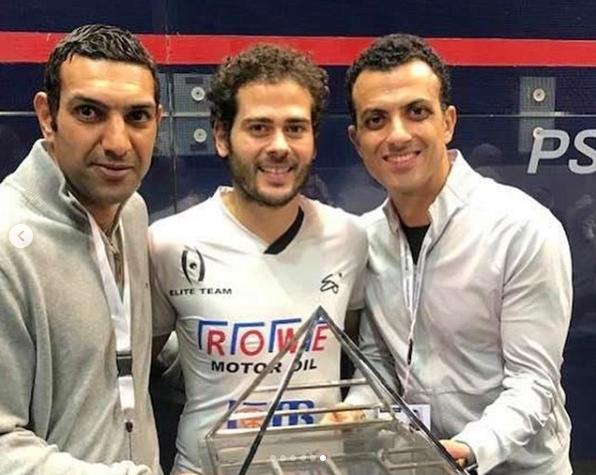 كريم عبد الجواد بعد التتويج ببطولة مصر الدولية