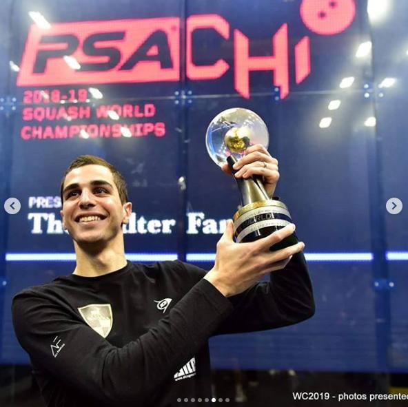 علي فرج وكأس بطولة العالم