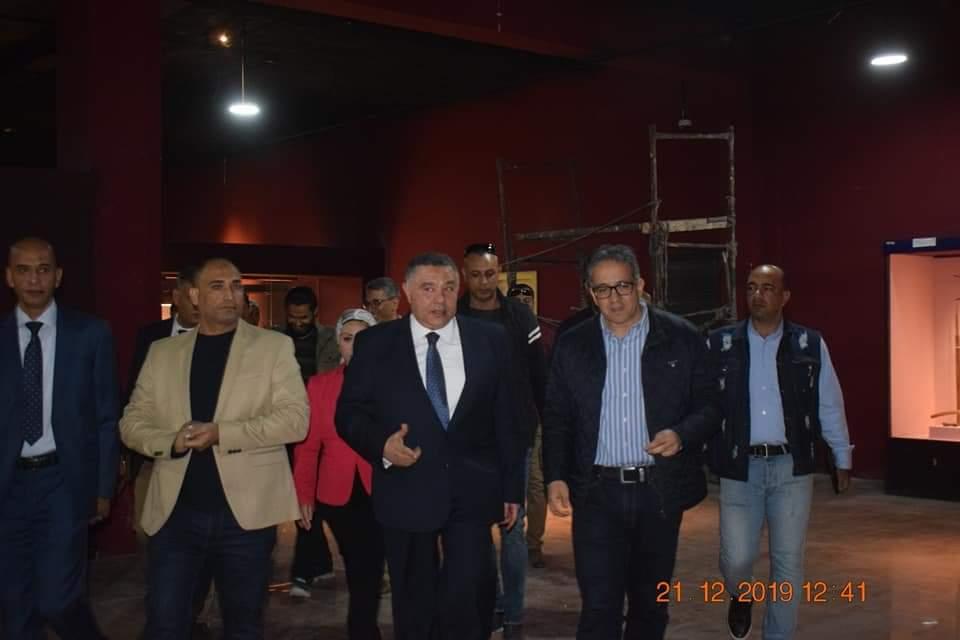 وزير الآثار يتفقد متحف آثار الغردقة (6)