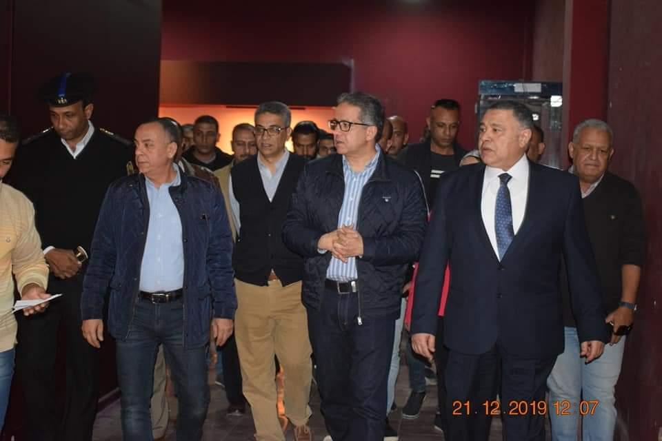 وزير الآثار يتفقد متحف آثار الغردقة (4)