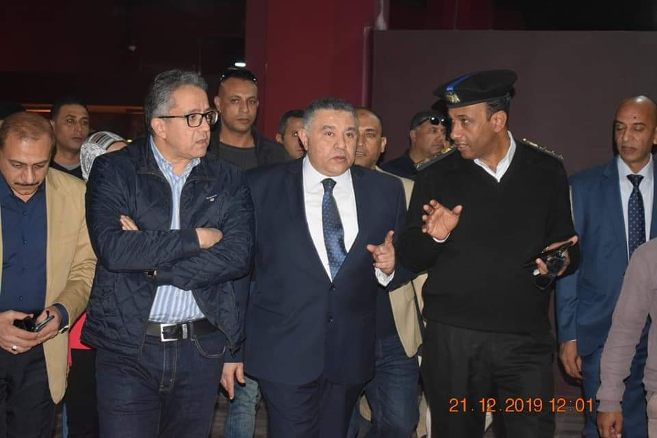 وزير الآثار يتفقد متحف آثار الغردقة (1)