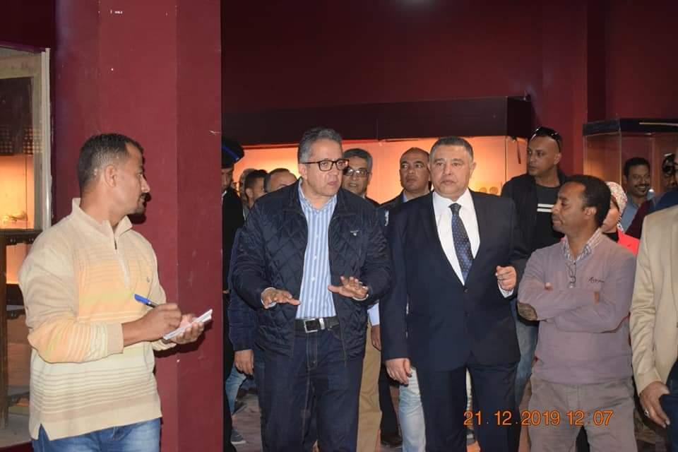 وزير الآثار يتفقد متحف آثار الغردقة (3)