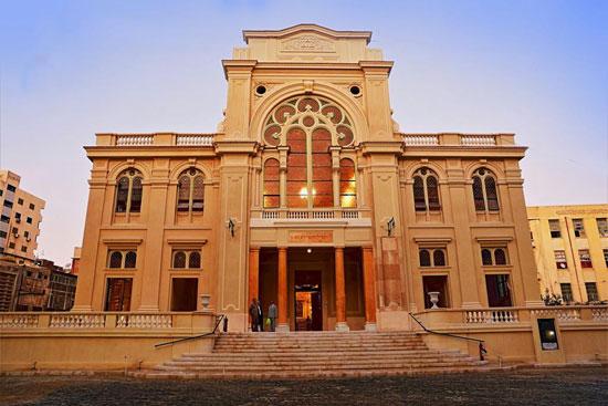 المعبد اليهودى إلياهو هنابى  بالإسكندرية (1)