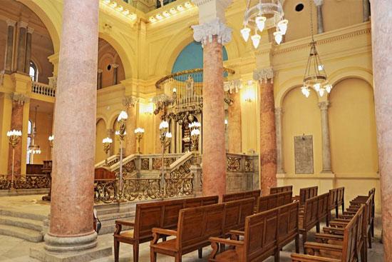 المعبد اليهودى إلياهو هنابى  بالإسكندرية (9)