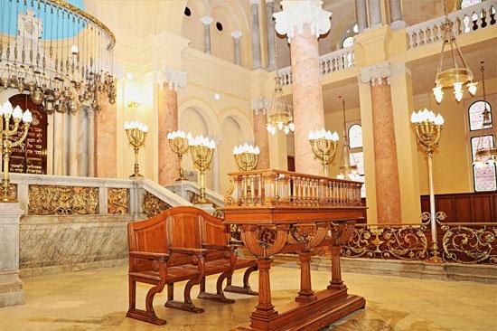 المعبد اليهودى إلياهو هنابى  بالإسكندرية (4)