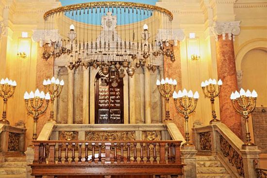 المعبد اليهودى إلياهو هنابى  بالإسكندرية (2)
