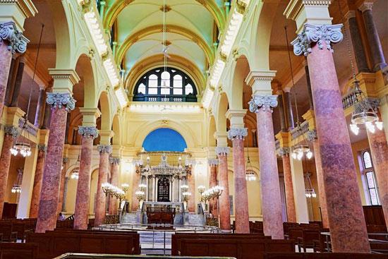 المعبد اليهودى إلياهو هنابى  بالإسكندرية (6)