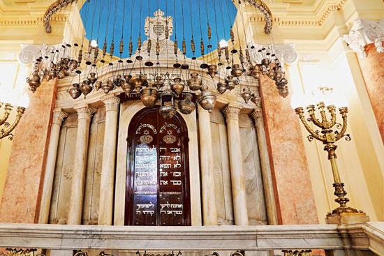 المعبد اليهودى إلياهو هنابى  بالإسكندرية (13)