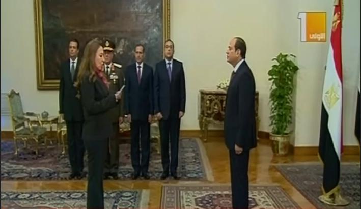 نائبة وزيرة الاتصالات تؤدى اليمين الدستورية