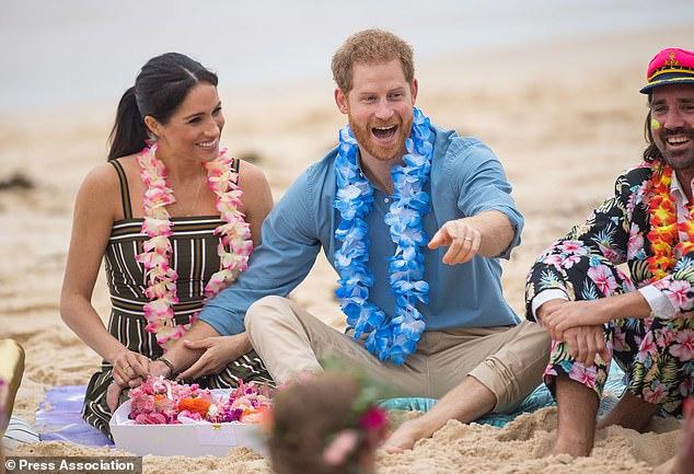 الأمير هارى وزوجته ميجان ماركل (2)