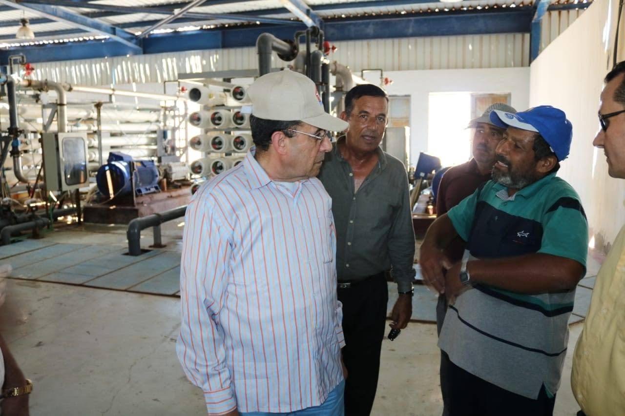 المشروعات التنموية على أرض الفيروز (10)