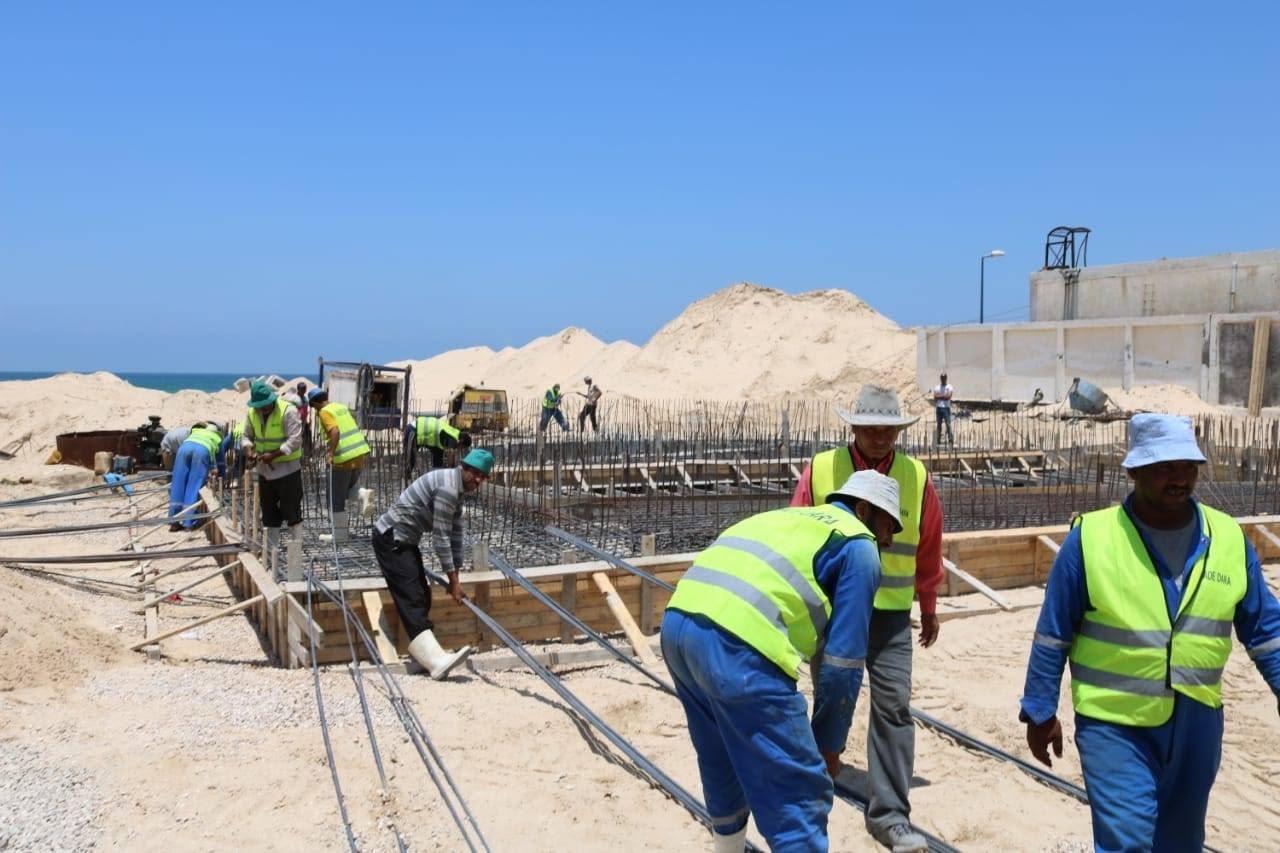 المشروعات التنموية على أرض الفيروز (11)