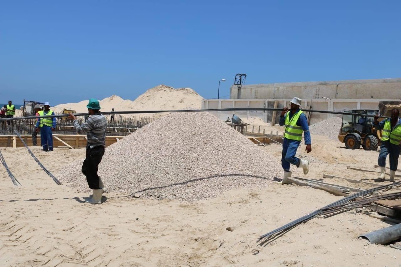 المشروعات التنموية على أرض الفيروز (12)