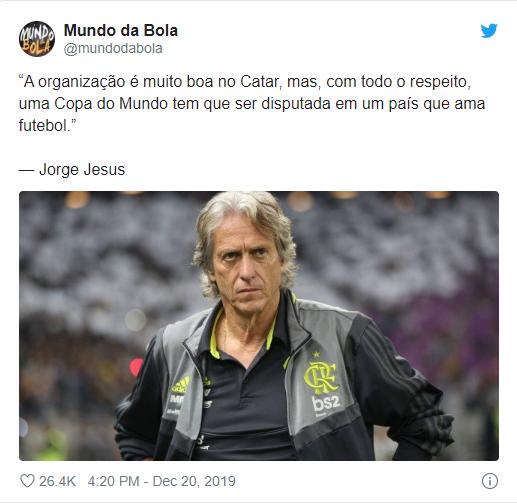 تصريحات جيسوس للموقع البرتغالى