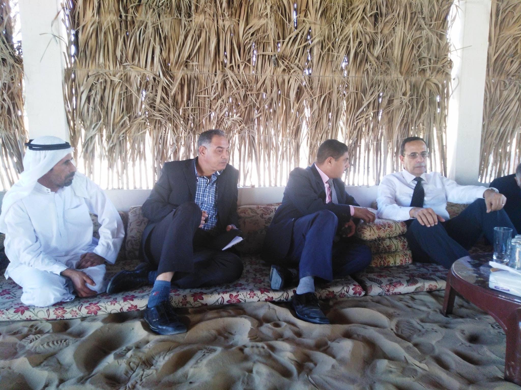 المشروعات التنموية على أرض الفيروز (4)
