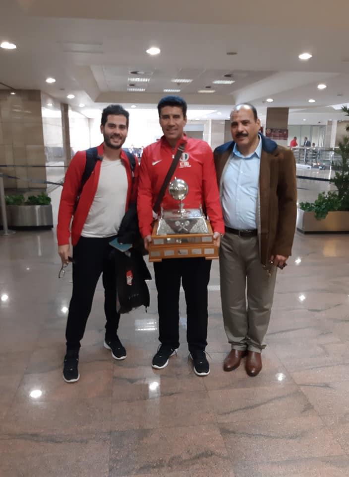 كريم عبد الجواد لاعبالاهلي مع امير وجيه