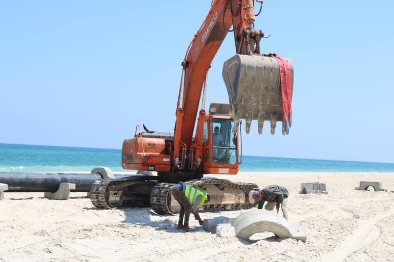 المشروعات التنموية على أرض الفيروز (7)